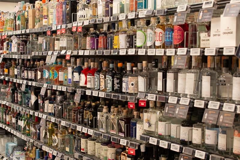 Meny gin tonic København