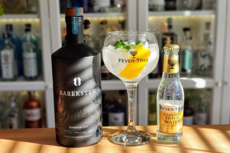 Gin og Tonic med Bareksten Botanical Gin