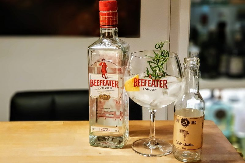 Gin-Tonic med Beefeater London Dry Gin