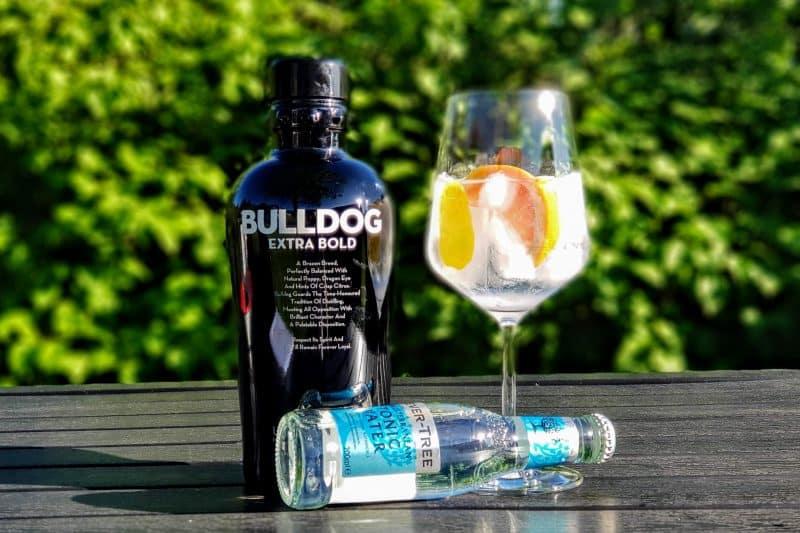 Bulldog Extra Bold Gin Mediterranean Grapefruktskall Tonic Grapefrukt Sitronskall GT