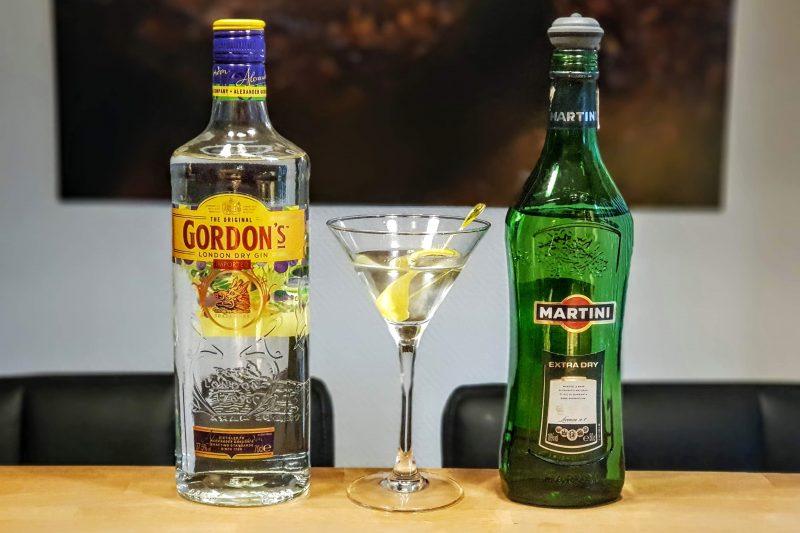 Dry Martini med Gordons London Dry Gin