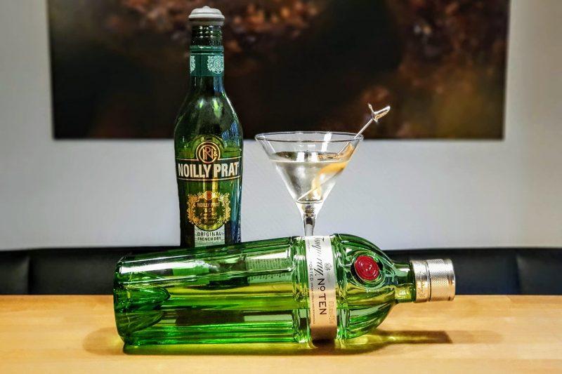 Dry Martini med Tanqueray Ten