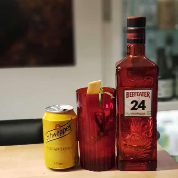 Gin og Tonic med Beefeater 24