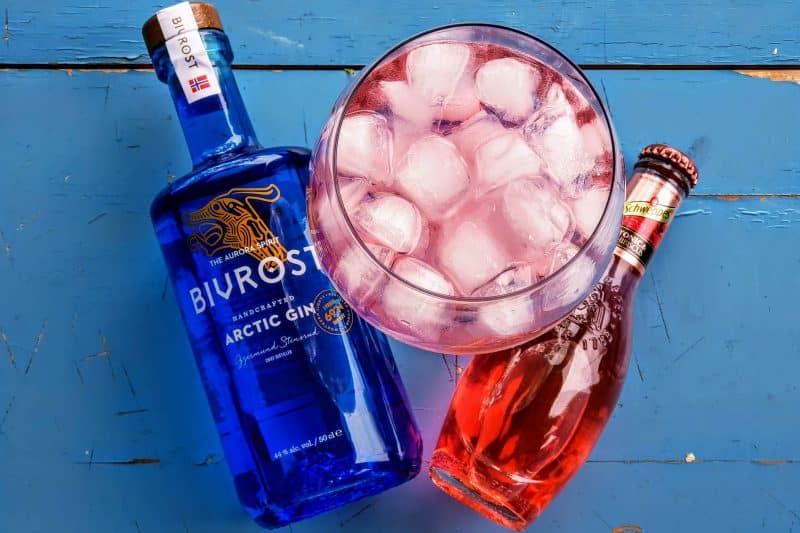 Gin og Tonic med Bivrost Arctic Gin