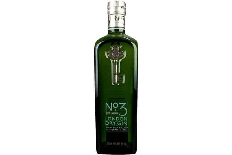 Hva passer til No.3 London Dry Gin