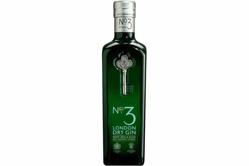 Hva passer til No.3 London Dry Gin Kingsman Edition