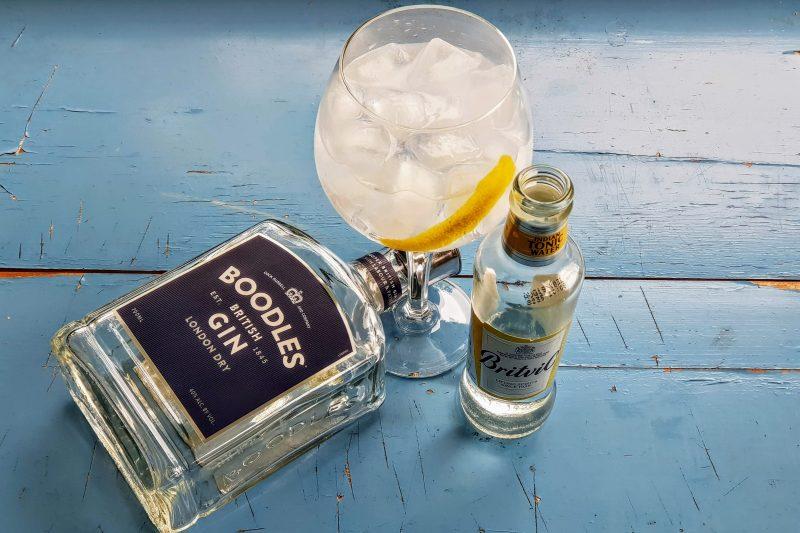 Gin og Tonic med Boodles Gin