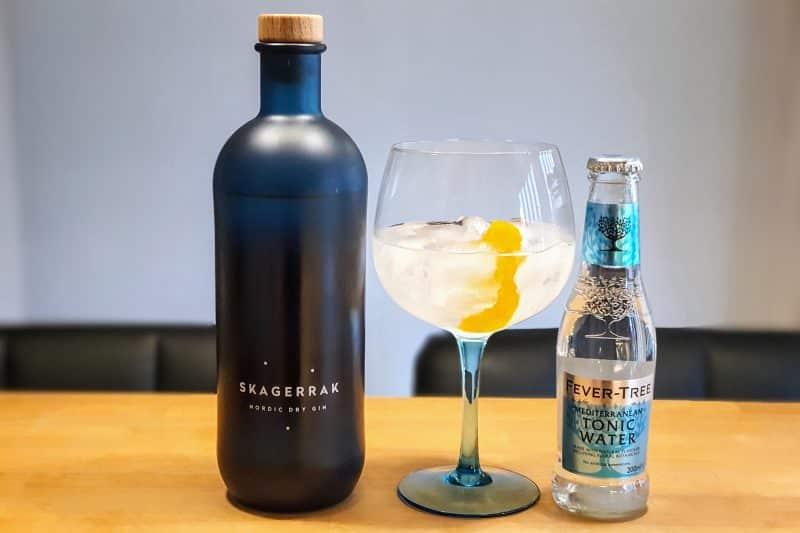 Gin og Tonic med Skagerrak Gin