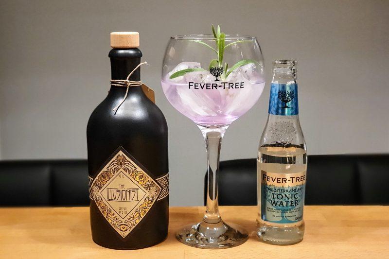 Gin og Tonic med Illusionist Dry Gin