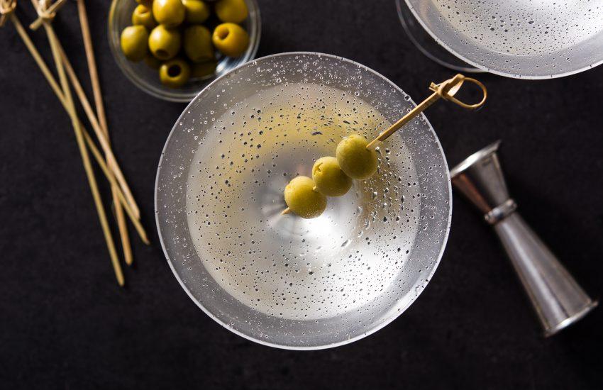 Dry Martini oppskrifter dirty gibson