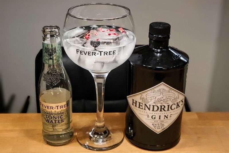 Gin-Tonic med Hendricks