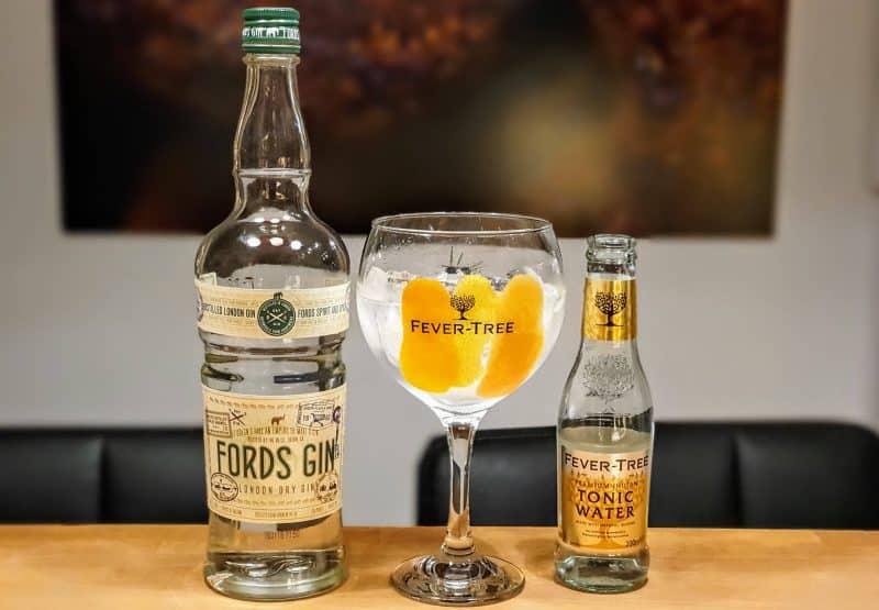Gin og Tonic med Fords Gin