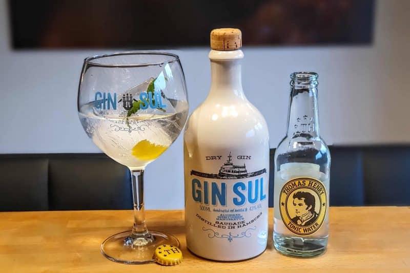 Gin og Tonic med Gin Sul