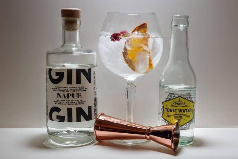 Gin og Tonic med Kurö Napue Gin