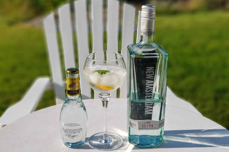 Gin og Tonic med New Amsterdam Gin