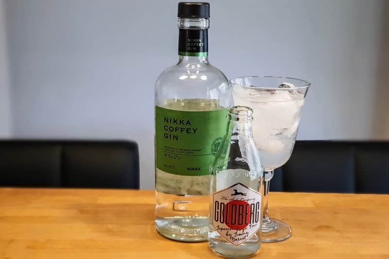 Gin og Tonic med Nikka Gin og Goldberg Yuzu Tonic