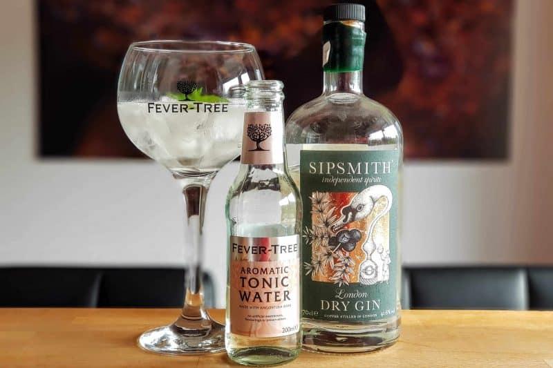 Gin og Tonic med Sipsmith London Dry Gin