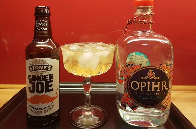Gin Buck med Ophir Gin og ingefærøl