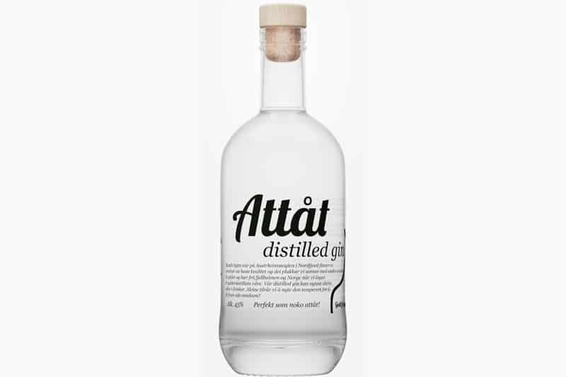 Hva passer til Attåt Distilled gin