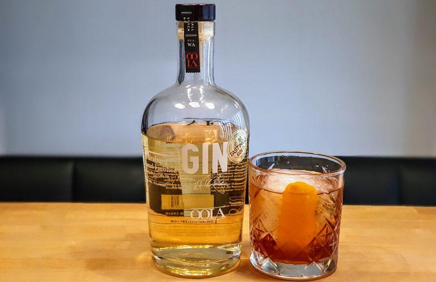 Negroni med OOLA Barrel Finished Gin