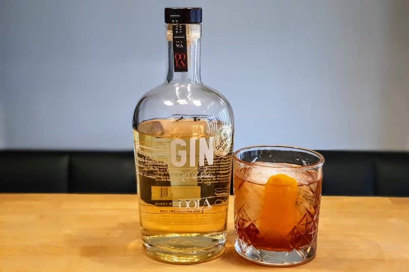 Negroni med OOLA Barrel Finished Gin