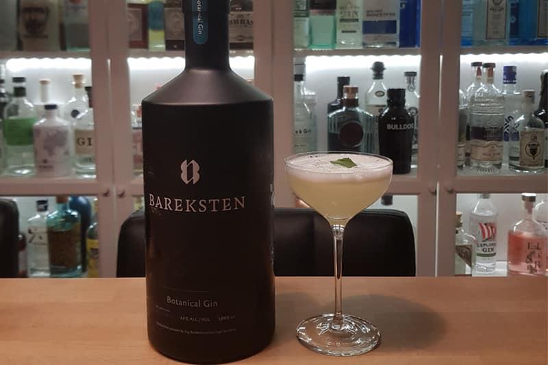 Gin Sour-med-Bareksten-Botanical-Gin