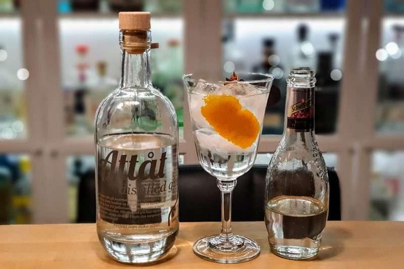 Gin-Tonic med Attåt Distilled Gin