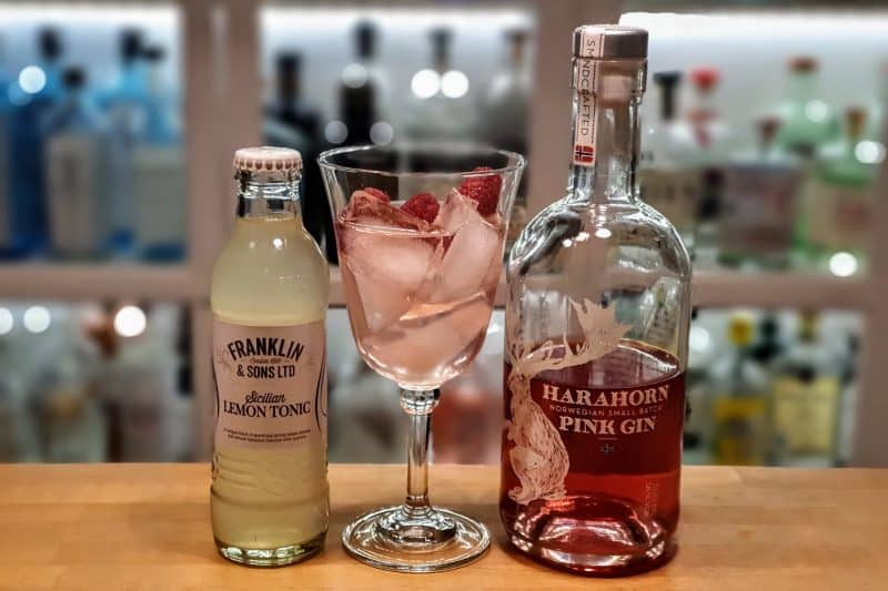 Gin Tonic med Harahorn Pink Gin