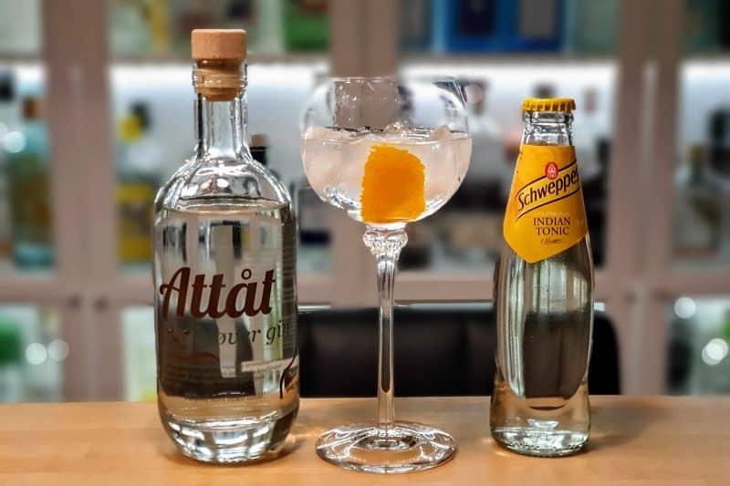 Gin og Tonic med Attåt Kløver Gin