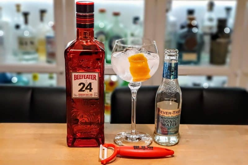 Gin og Tonic med Beefeater 24 Gin