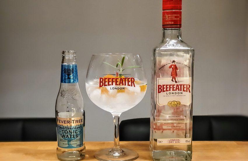 Gin og Tonic med Beefeater