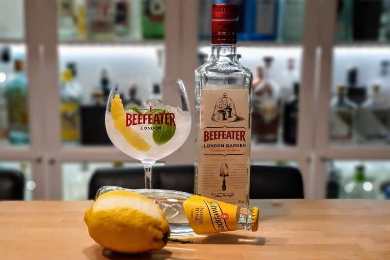Gin og Tonic med Beefeater London Garden