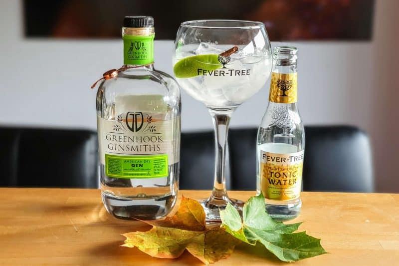 Gin og Tonic med Greenhook