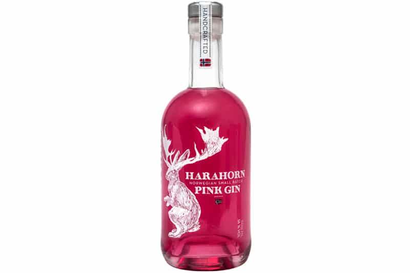 harahorn pink Gin (38%) er en virkelig god Pink Gin