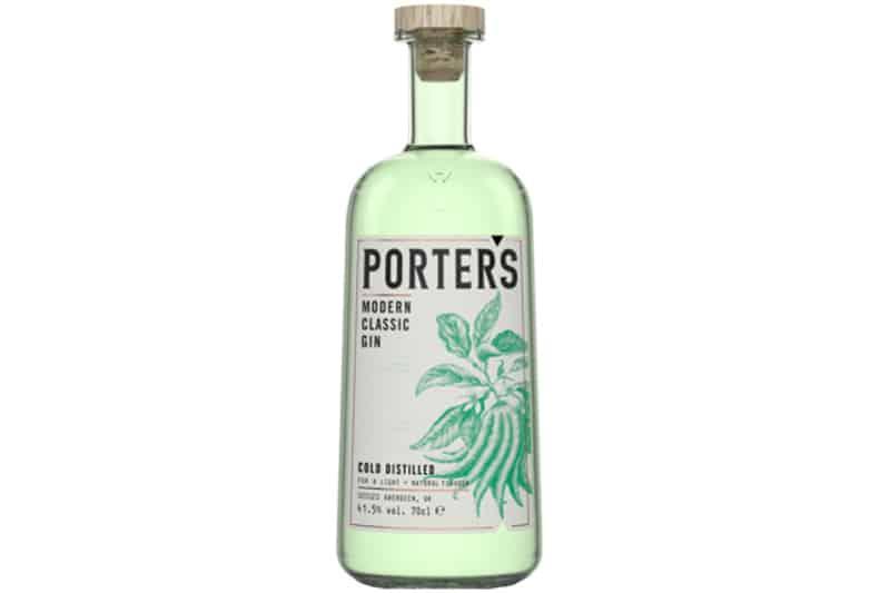 Hva passer til Porters Modern Classic Gin