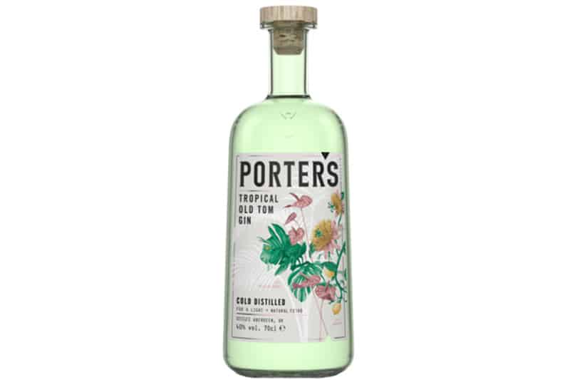 Hva passer til Porters Tropical Old Tom Gin