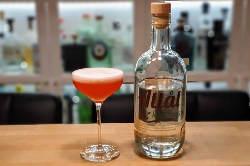 Strawberry Clover med Attåt Kløver Gin