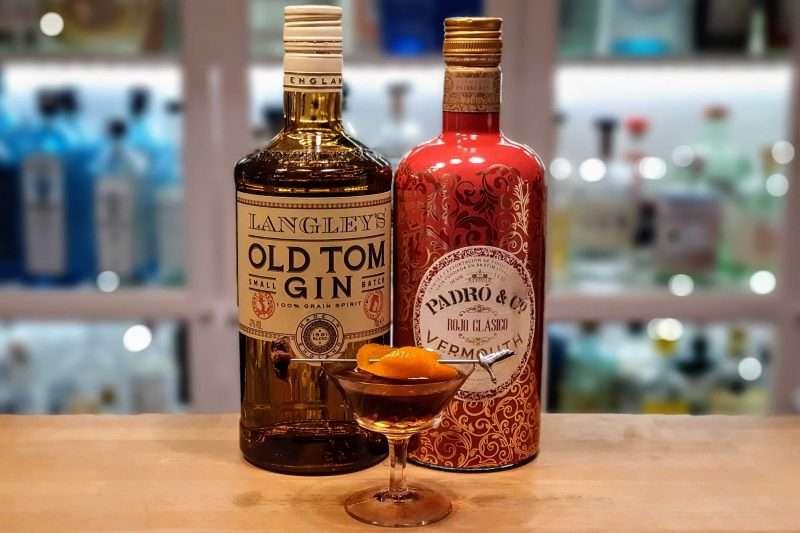 Martinez med Langley's Old Tom Gin