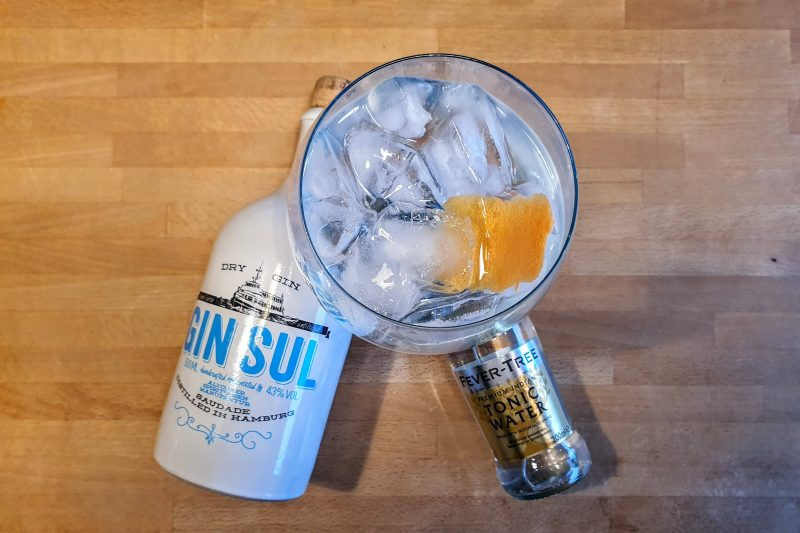 Gin-Tonic med Gin Sul