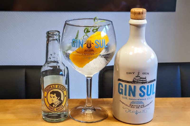 Gin Tonic med Gin Sul