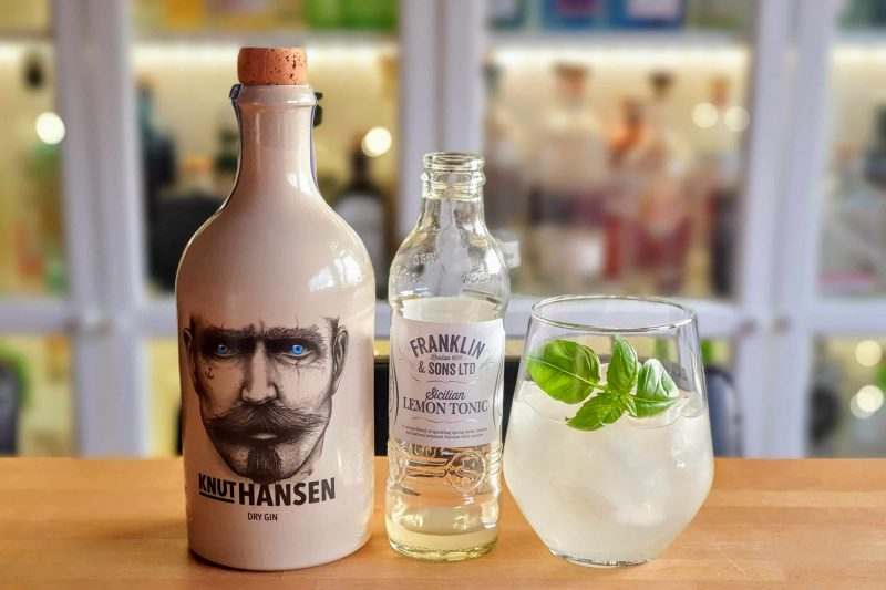 Gin Tonic med Knut Hansen Gin