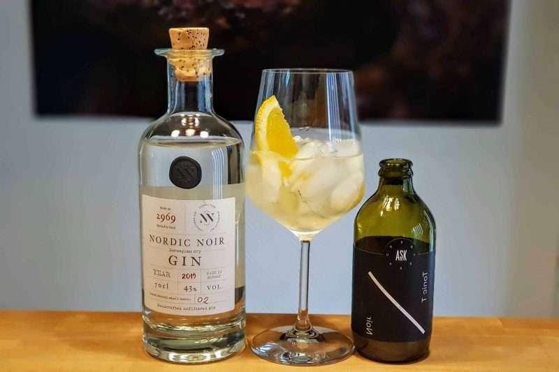 in Tonic med Nordic Noir Gin