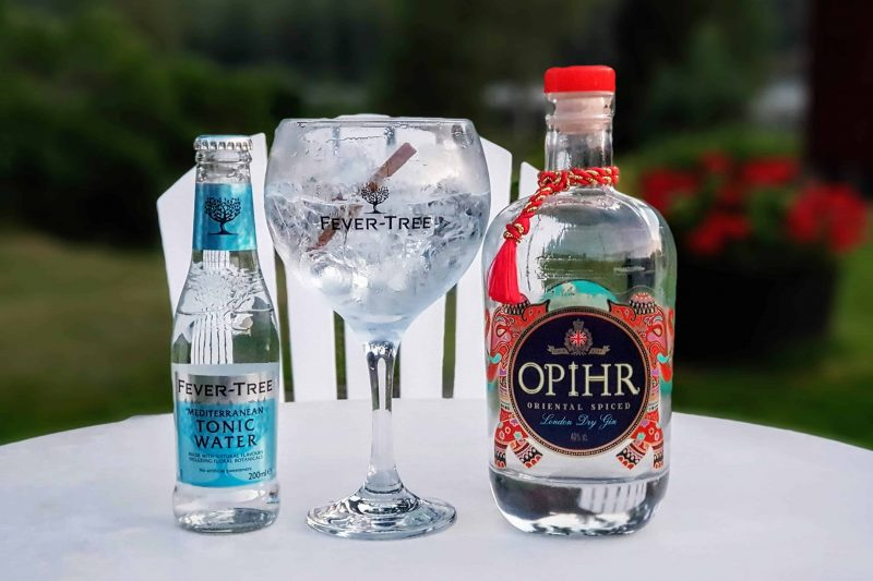 Gin Tonic med Opihr Gin