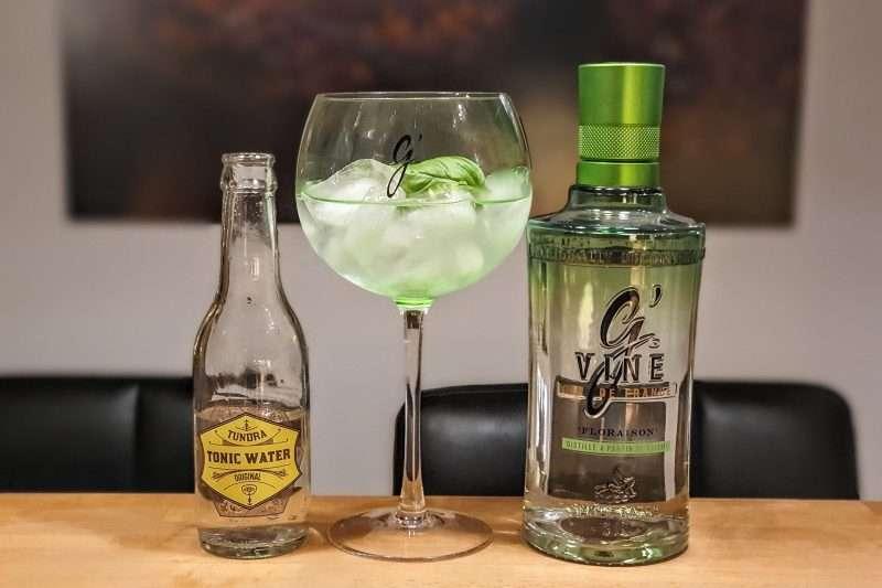 Gin og Tonic med G'vine Gin