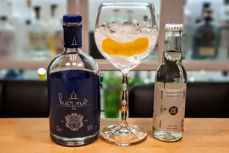 Gin og Tonic med Herno Gin