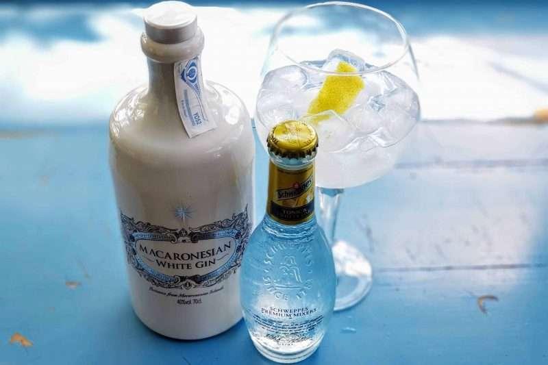 Gin og Tonic med Macaronesian White Gin