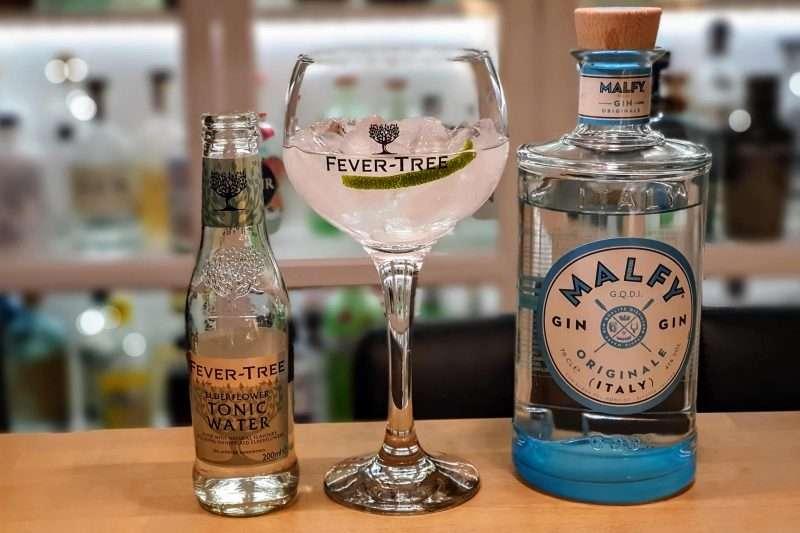 Gin og Tonic med Malfy Gin Originale