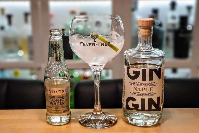 Gin og Tonic med Napue Gin