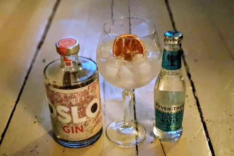 Gin og Tonic med Oslo Gin
