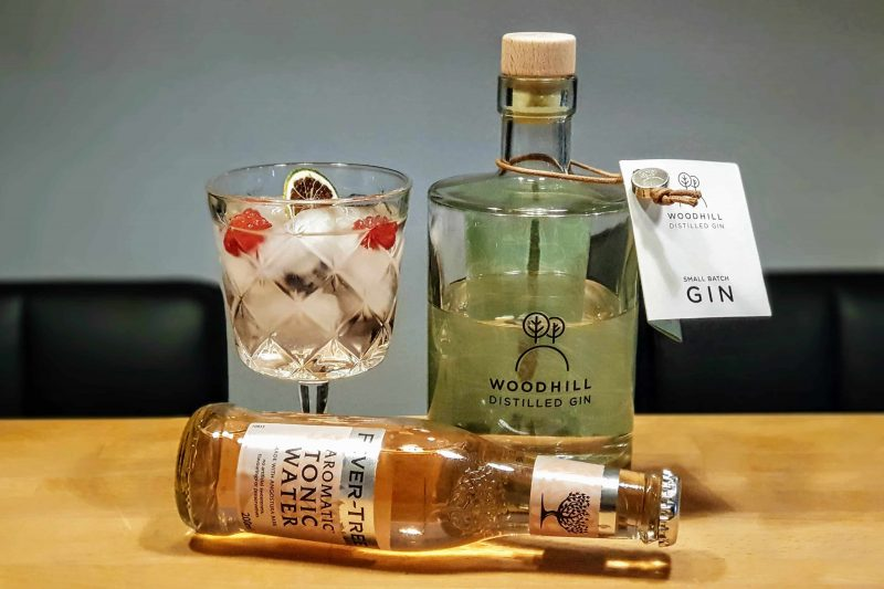 Gin Tonic Med Woodhill Gin